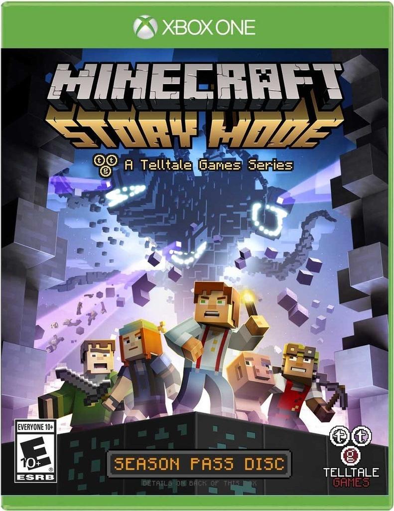 Minecraft: Story Mode - The Complete Adventure - Xbox One - Mídia
