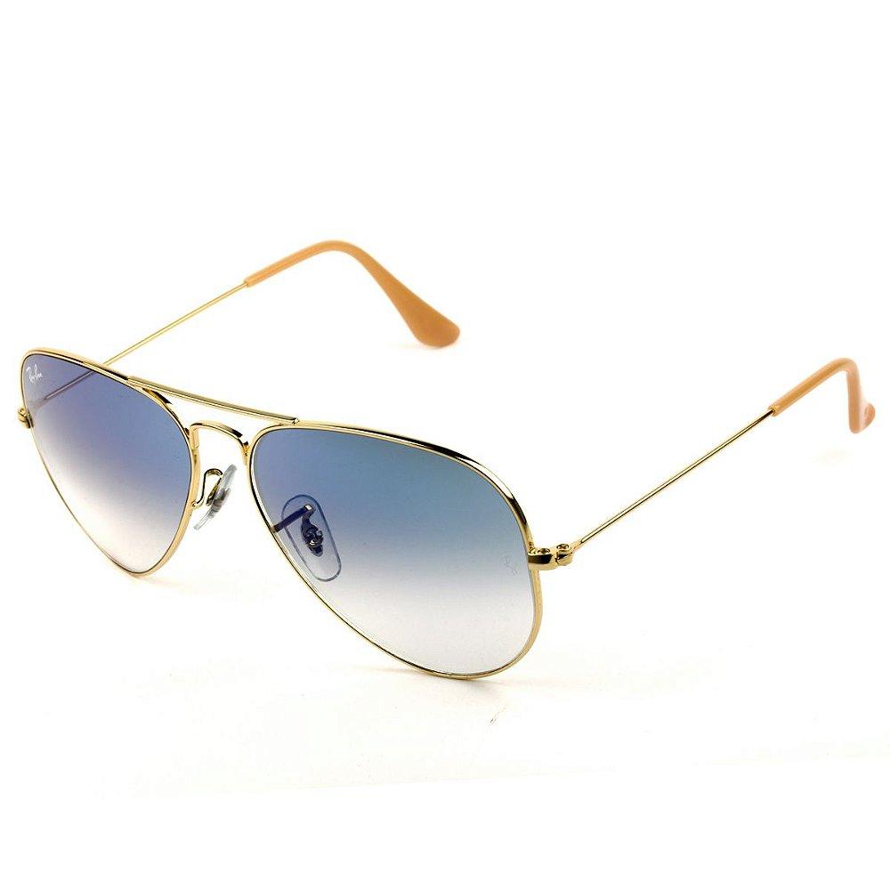 8e72d3915 Óculos de Sol Ray-Ban Aviador RB3025L 001/3F 62. Código: qRB3025L0013F62.  Óculos de Sol Ray-Ban Aviador RB3025L 001/3F 62