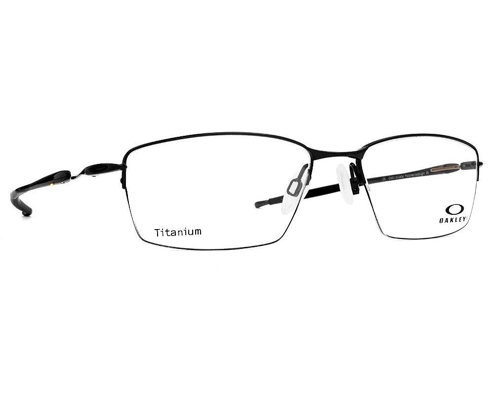 Armação Óculos de Grau Oakley Masculino Lizard Titanium b30f31e99f