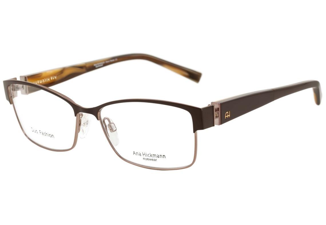 Armação Óculos de Grau Ana Hickmann Feminino AH1290 01A - Ótica Quartz e8486b0c59