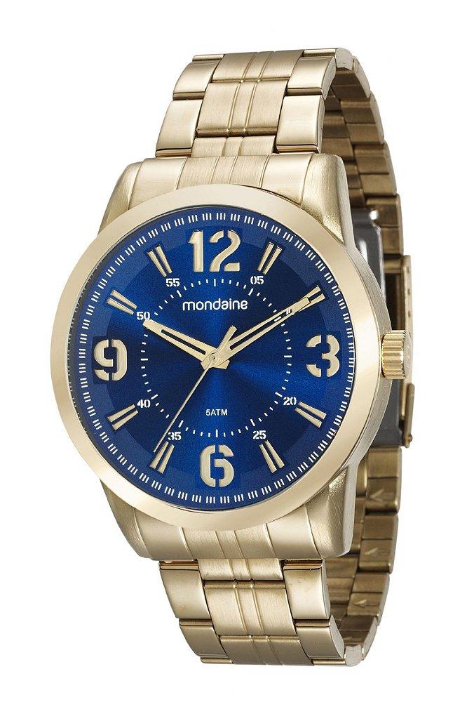 79f920e5e50 ATACADO Relógio Masculino Mondaine Dourado Analógico 99087GPMVDE1. ATACADO  Relógio ...