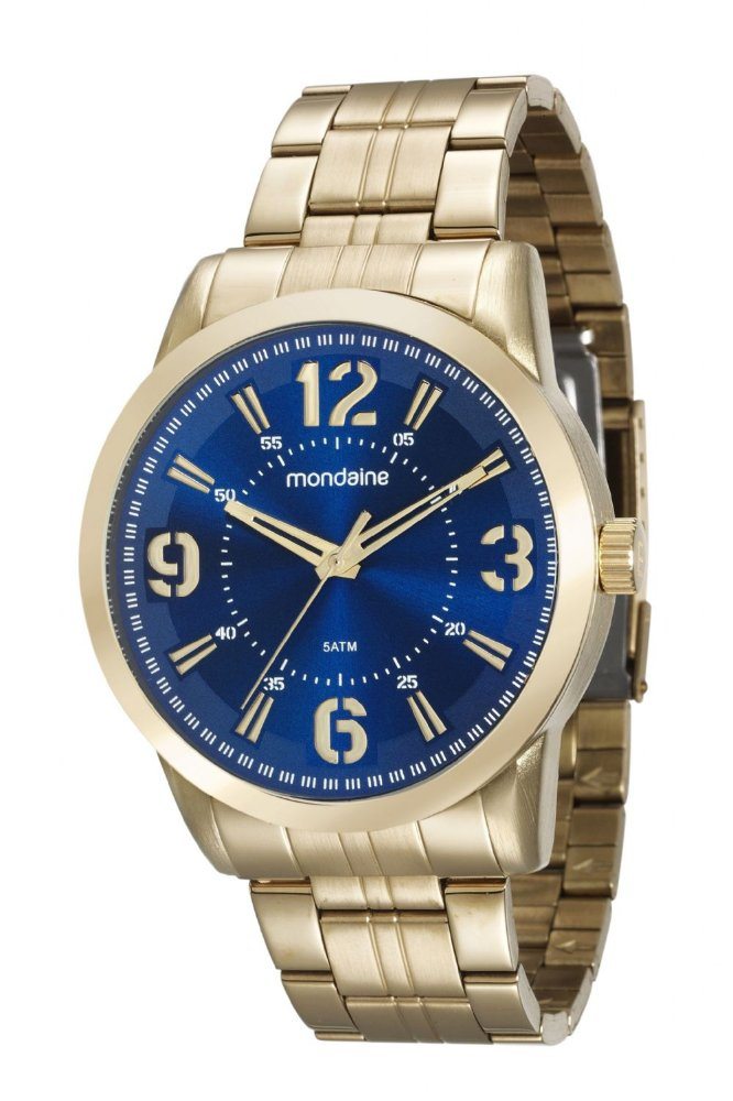 8cdb68c1033 ATACADO Relógio Masculino Mondaine Dourado Analógico 99087GPMVDE1. ATACADO  Relógio ...