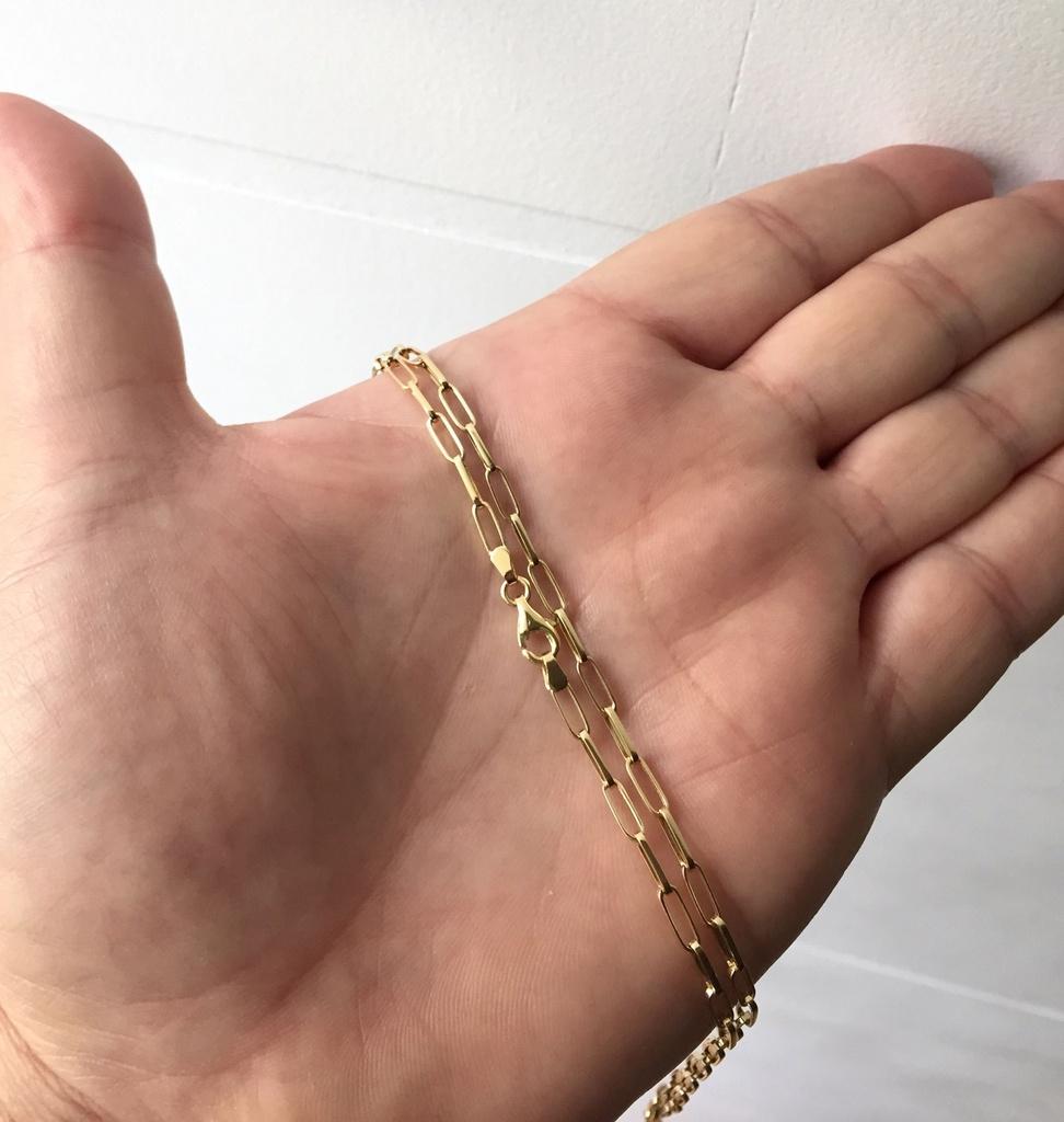 b9af2f09575 Corrente Cartier De Ouro 18k 60 Cm 2mm 4