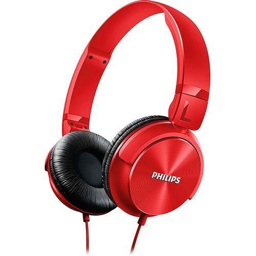 Fone de Ouvido Philips SHL3060PP/00 - Vermelho