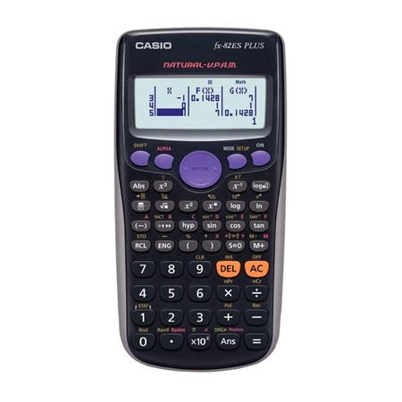 Calculadora Científica CASIO FX-82ES PLUS BK