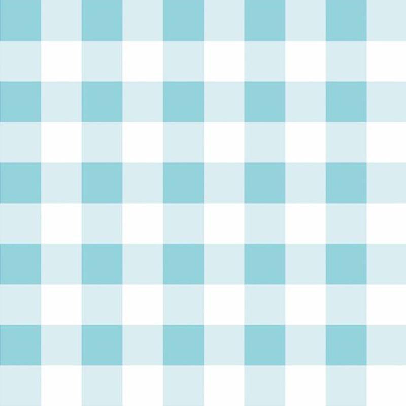 Papel de parede infantil xadrez azul claro estilocor for Papel para pared infantil
