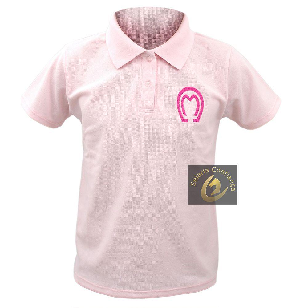 1f2e81757d Camisa Polo Feminina Mangalarga Marchador SC4504 - Selaria Confiança ...
