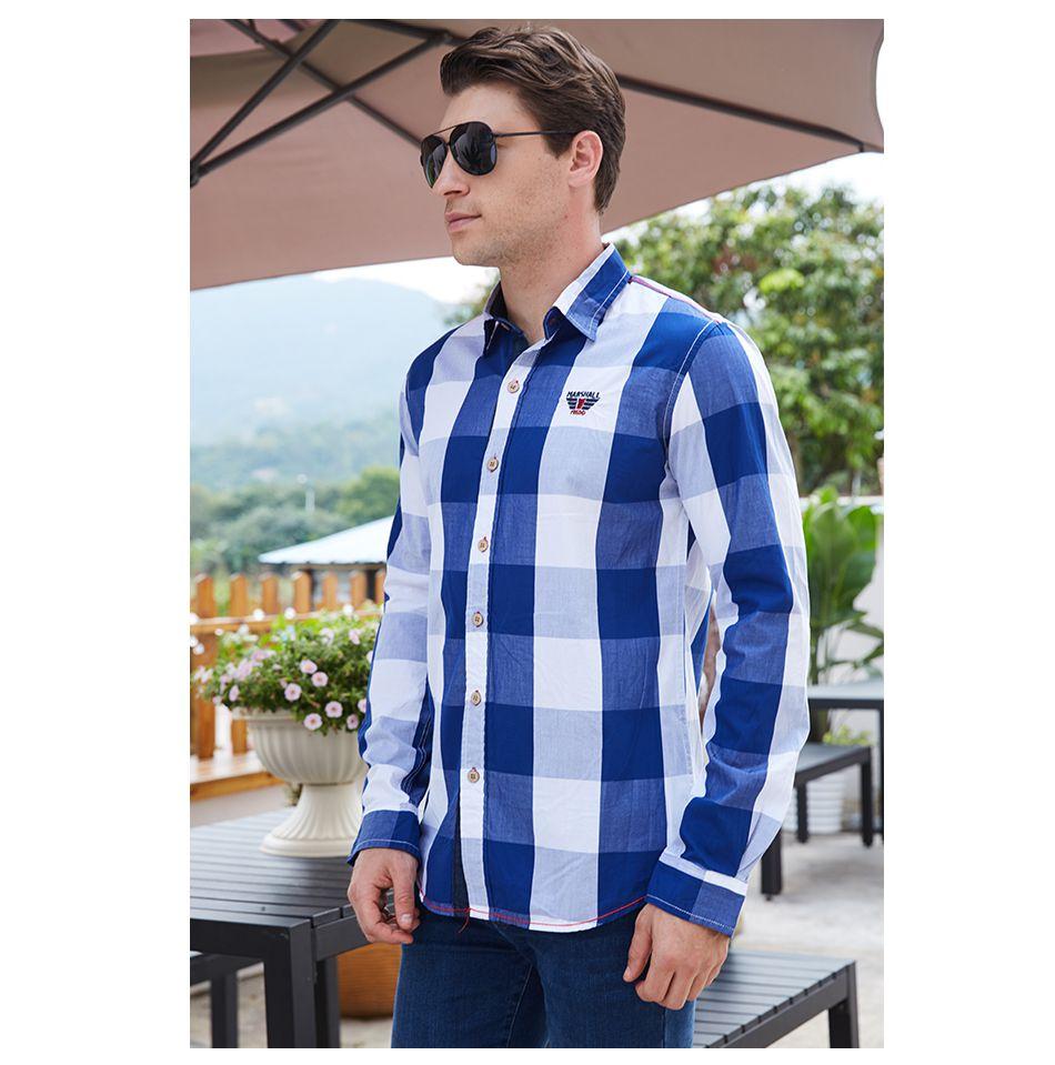 3ec7c29d0890b Camisa Quadriculada - 4 cores - MANDORAS