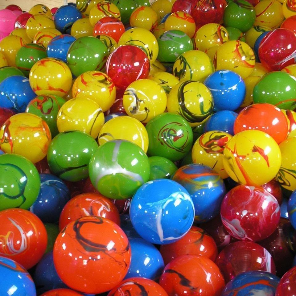 Kit com 30 bolas de 38cm lisas ou marmorizadas r 90 00 for Bolas para piscina de bolas