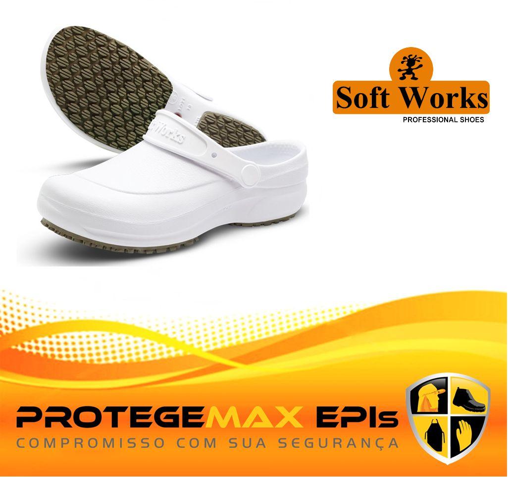 51f6f367b2 Tamanco Linha Soft Work Soft Works Ref. BB60. Código  TLSWSW60. Tamanco  Linha Soft Work Soft Works Ref. BB60