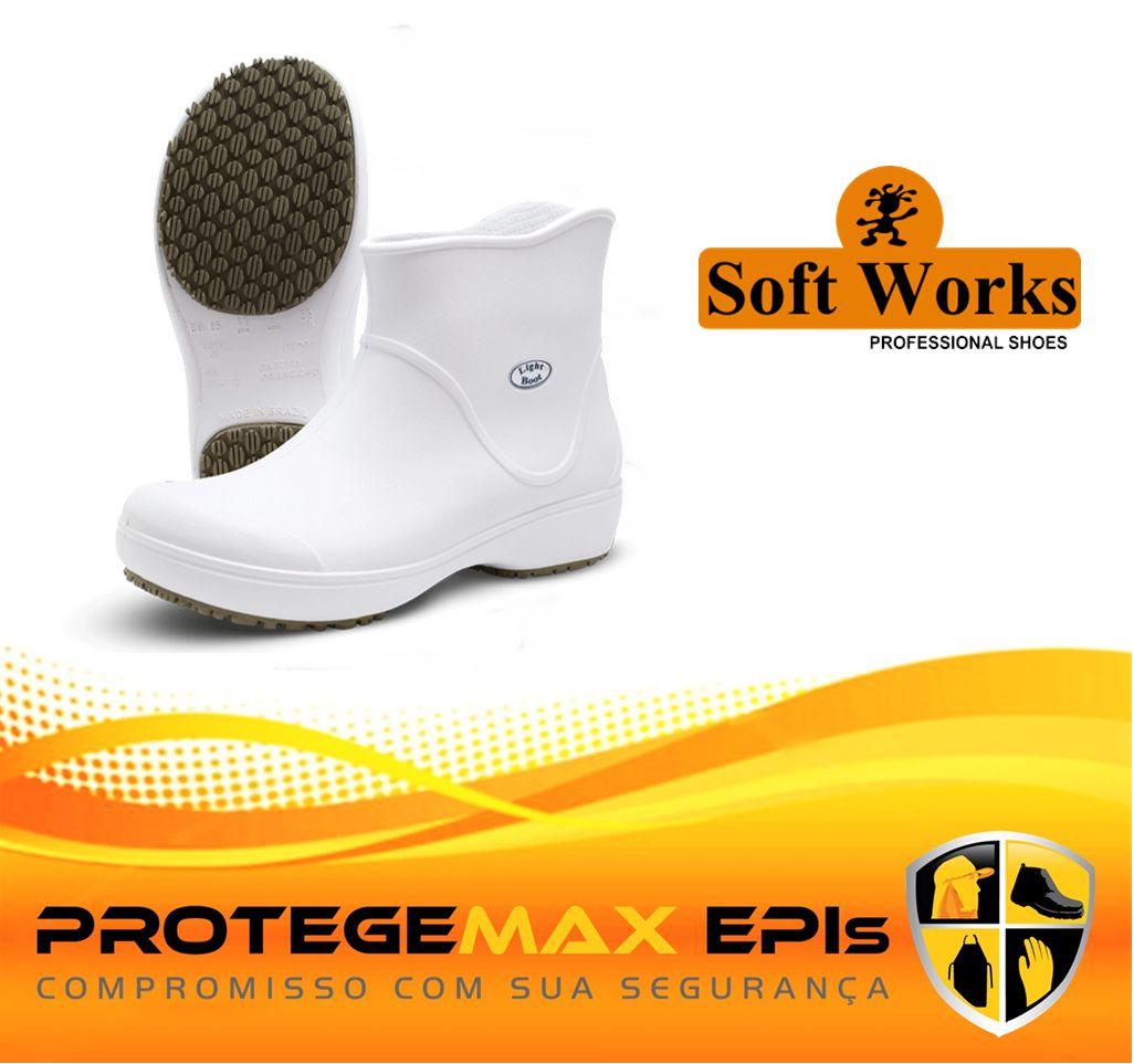 b29d0766d4b75 Protegemax EPIs - Bota Soft Works Cano Curto BB85 - ProtegeMAX EPIs