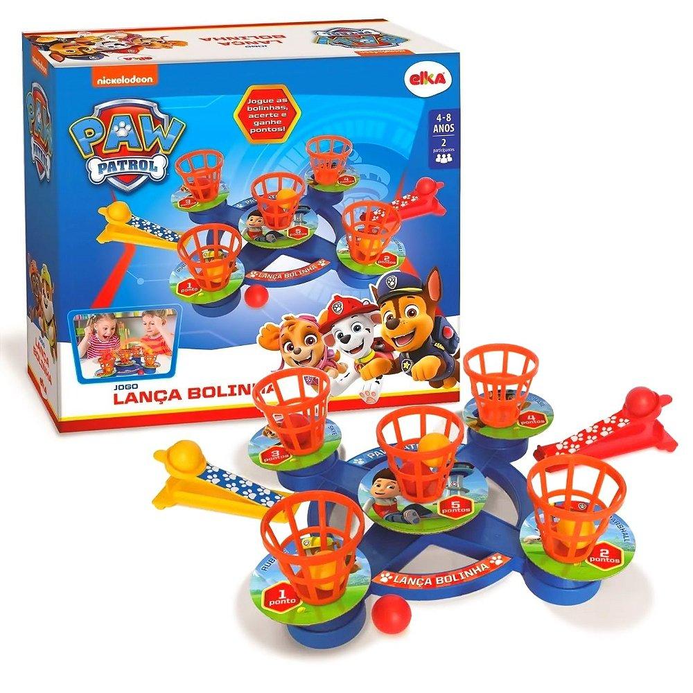 Jogo Lanca Bolinha Patrulha Canina Elka Hello Kids Sua Loja De Brinquedos Online