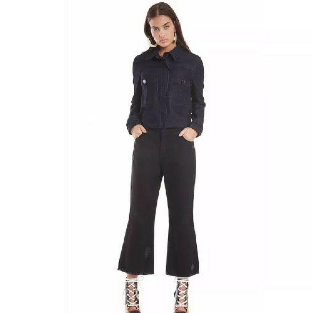 Jaqueta Maria Valentina Jeans Bolso Frente - Sua loja de moda ... b9393b97aa5