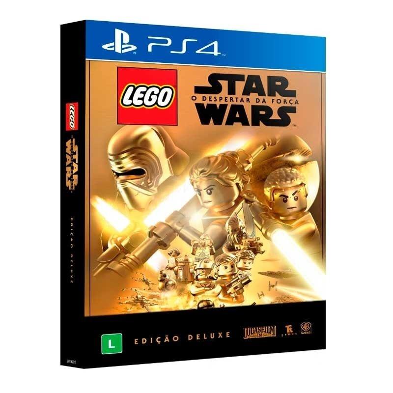 jogo lego star wars o despertar da força edição deluxe