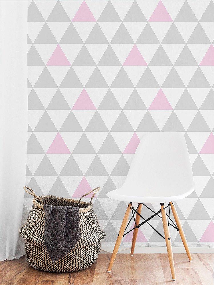 Papel de parede adesivo picol ros papel de parede adesivo adesivos de parede posters e - Papel para paredes decorativo ...