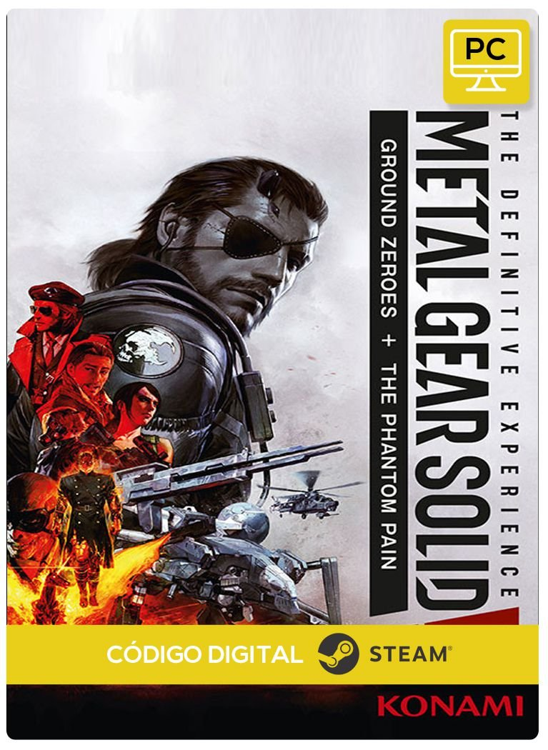 Metal Gear Solid V The Definitive Experience Pc Steam Cdigo De Game Ps4 Resgate Digital