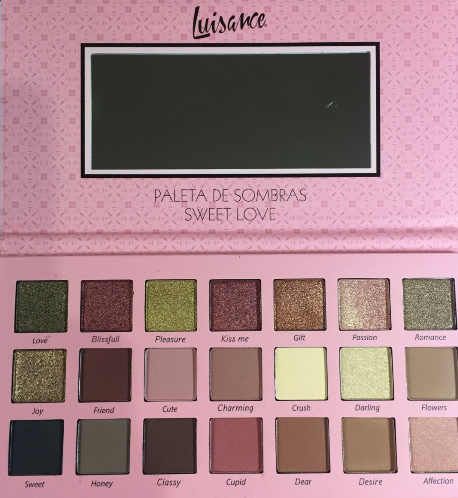 J.Pan SP184 Paleta de Sombra Inspired Forever SP Colors