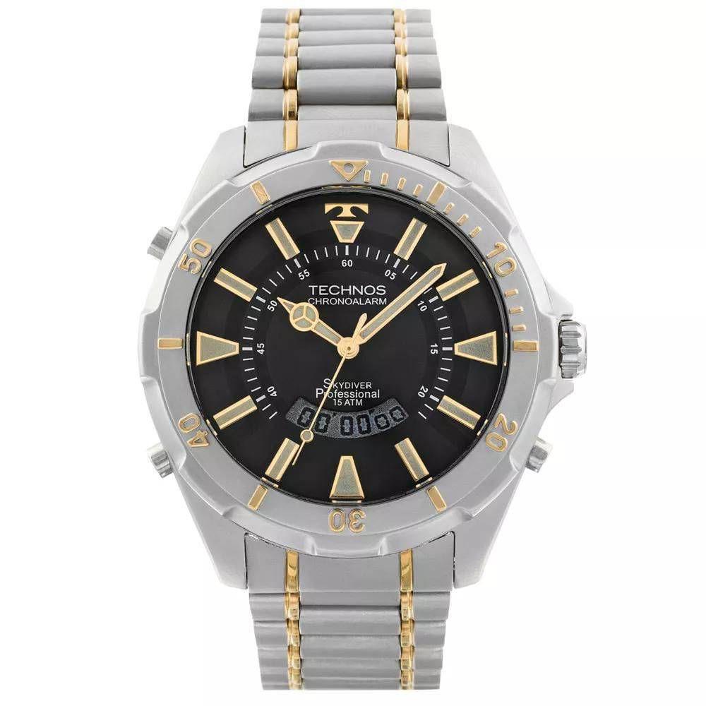 c21d9492d78 Relógio Technos Masculino T205fq 5p - Retran Joias