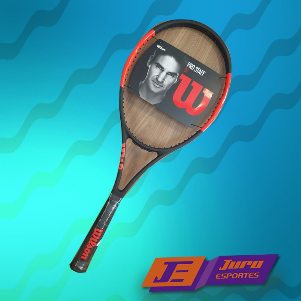 bcf387428 Raquete de Tênis Wilson Pro Staff 97 LS 2017 - Juro Esportes