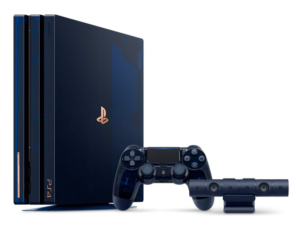 54cefdd9ab6a5 Console Playstation 4 Pro 2tb Limited 500 Million Bundle Edition. Código   BEX9DSTDY. Console Playstation 4 ...