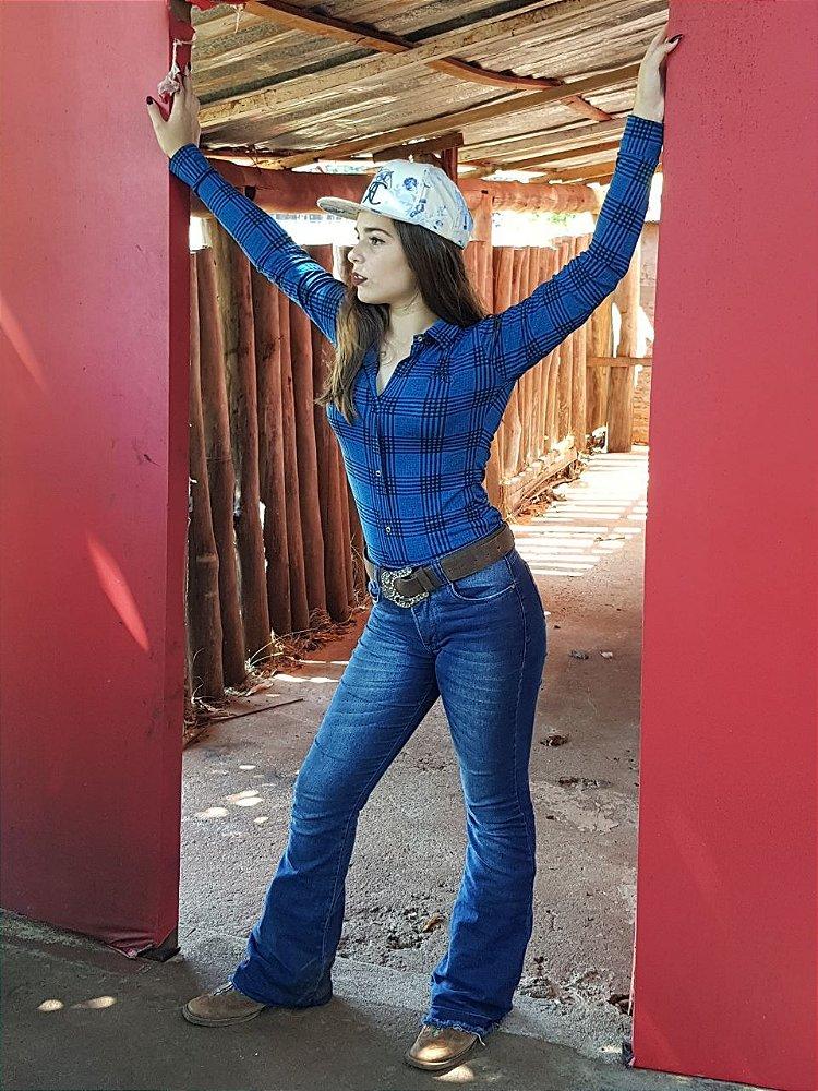 49e4d39155 Camisas Body Country Feminino Cowgirl Manga Longa Estampados Flores Floral  Preto e ...