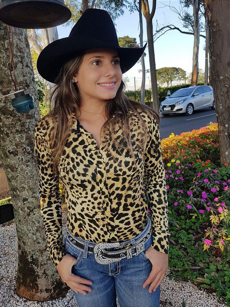 860ff859e1 Camisas Body Country Cowgirl Feminino Manga Longa Estampa Colorida Floral  Rosas Listrada ...