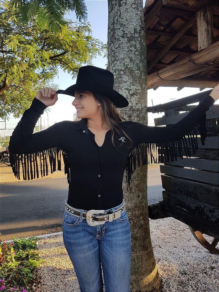 acd1dca9fa Body Country Feminino Cowgirl Manga Curta Estampados Modelos ...