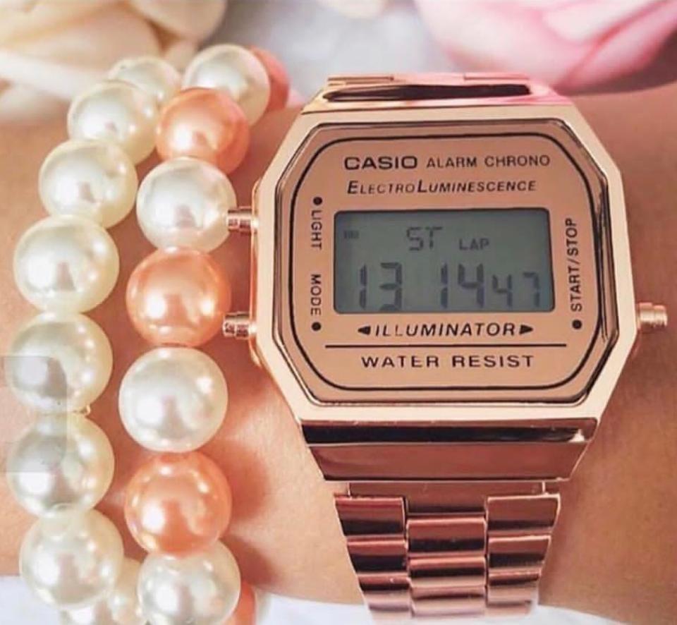 352cbc4da Relógio Casio Rose Gold - M Importados Loja