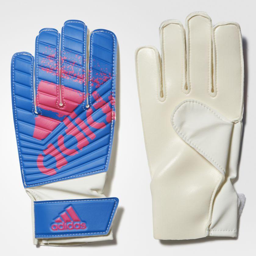 Luva De Goleiro Adidas X Lite Azul Rosa - 10K Sports c06c76fc80