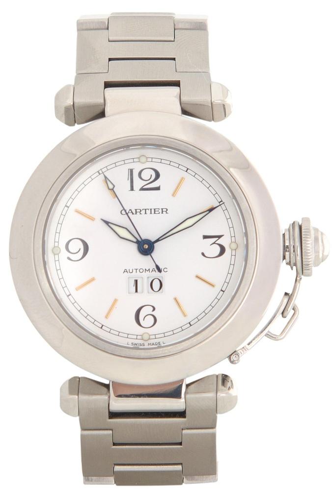 57ef2e226bf Relógio Cartier Pasha - Loja Vecchio