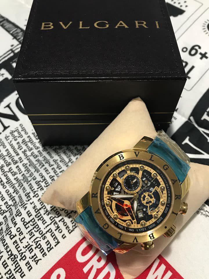 8cf08f7b812 Relógio Bvlgari Homem De Ferro + Caixa + Frete Grátis - BELO RELÓGIO ...