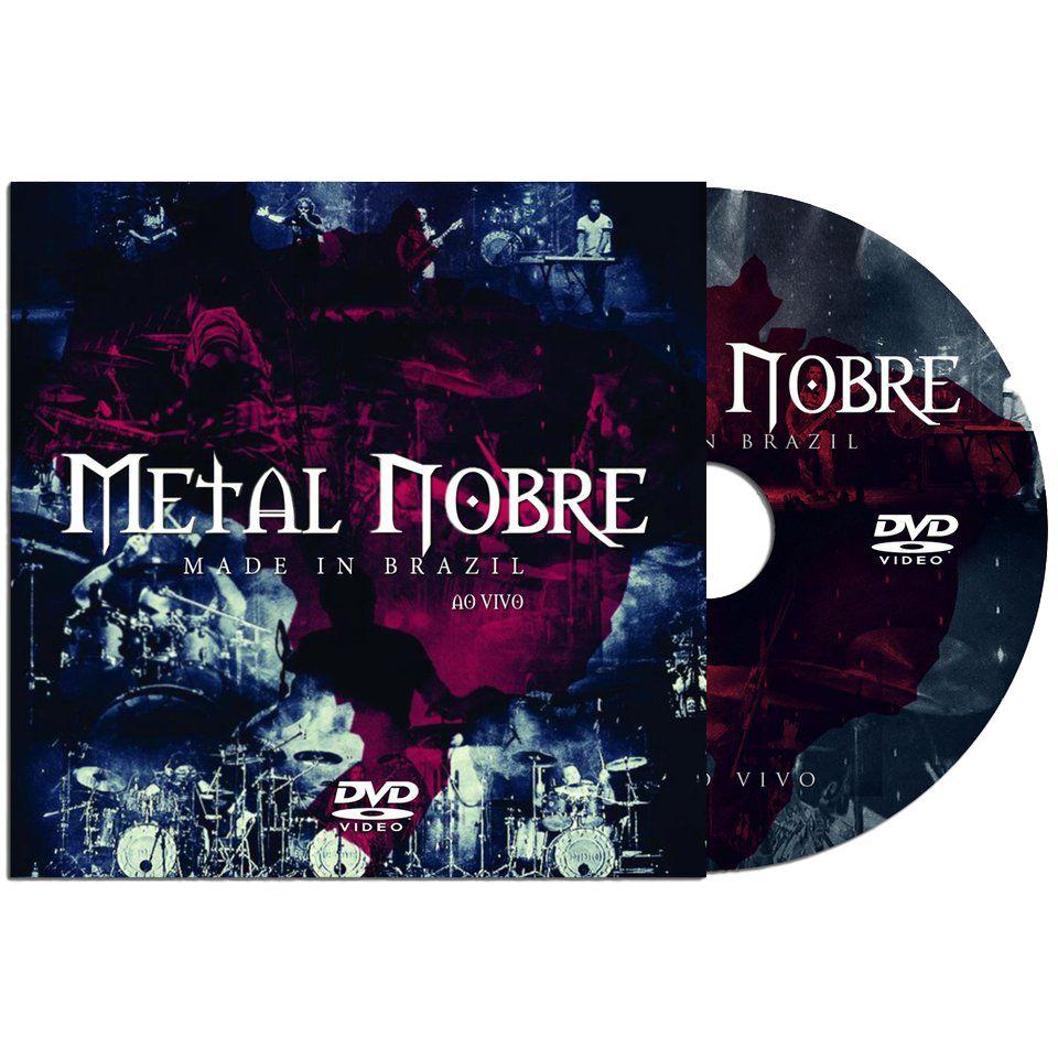 metal nobre made in brazil dvd