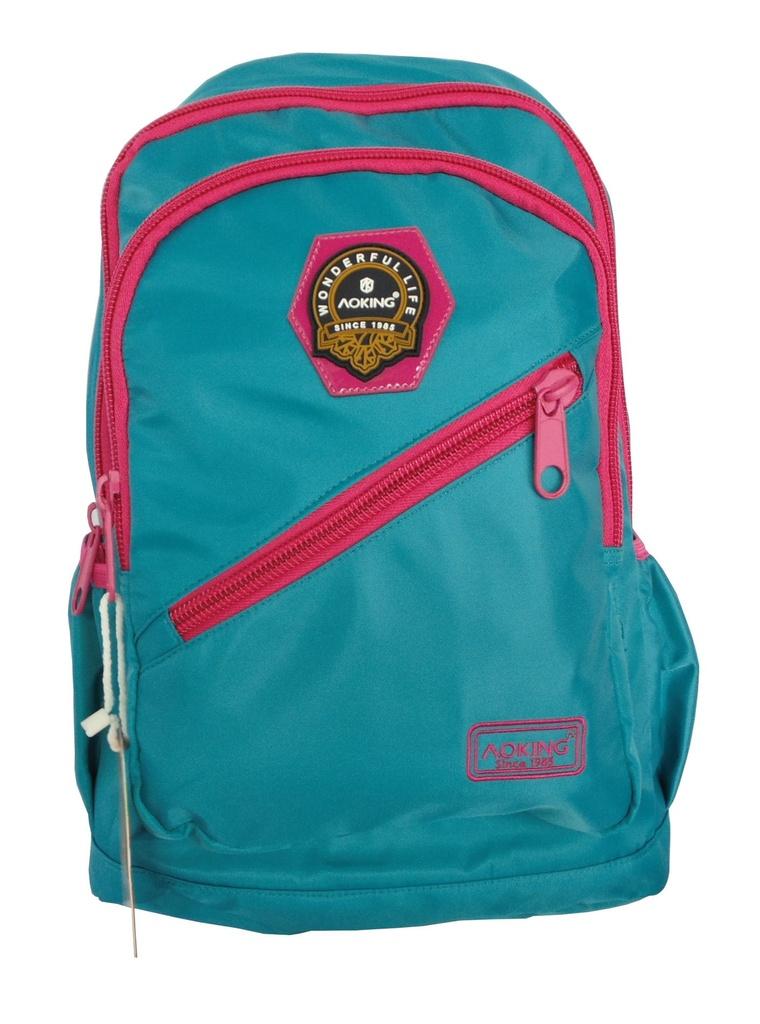 Bolsa Feminina Azul Turquesa : Mochila feminina azul turquesa kg presentes mochilas e