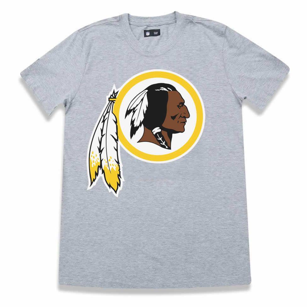 Camiseta Washington Redskins Basic Cinza - New Era - FIRST DOWN ... 977ad9b101af0