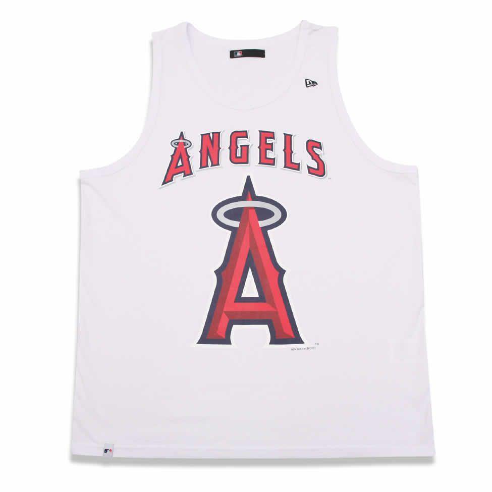 Regata Los Angeles Angels MLB Branca - New Era - FIRST DOWN ... 19c21c2e8a8c9