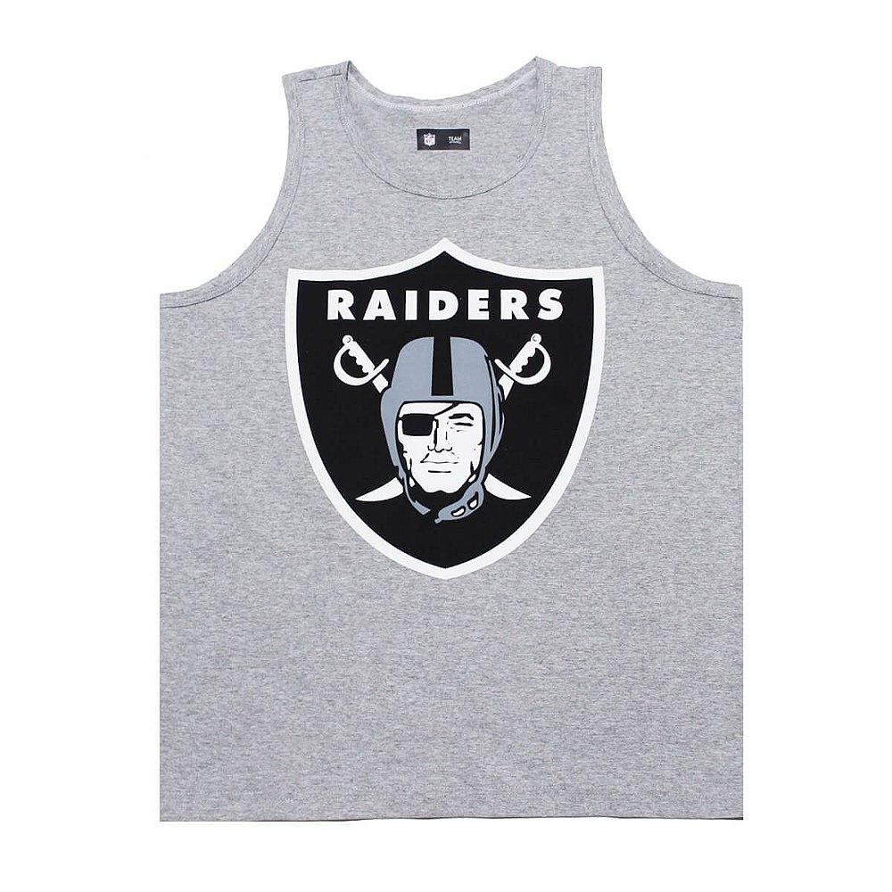 Regata Oakland Raiders Basic Cinza - New Era - FIRST DOWN - Produtos ... b1e15dbc6129c