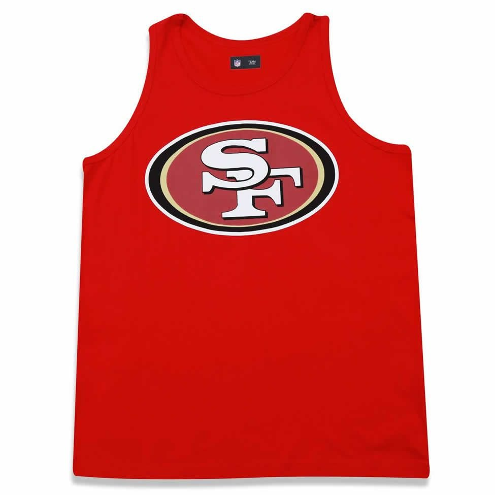 ... Regata San Francisco 49ers Vermelho - New Era - Imagem 2. Previous   Next. Regata ... 84a0902175d66