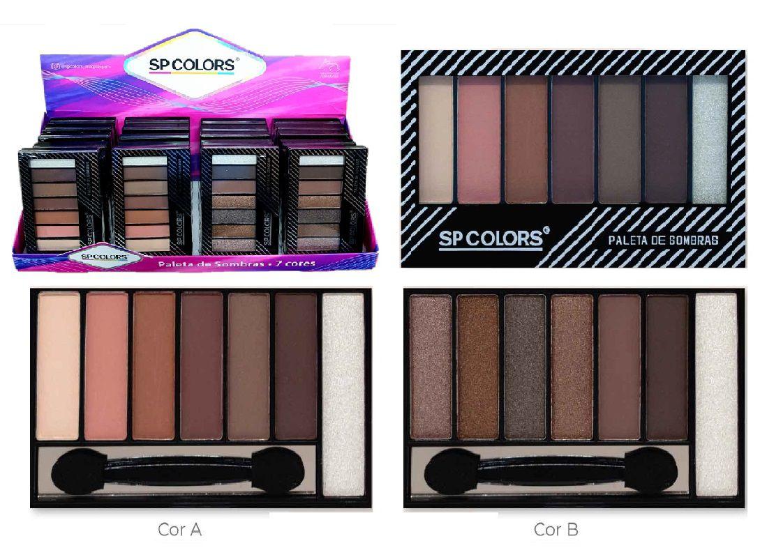 Paleta de Sombras Glam Luisance L3083-B - Preço de Atacado
