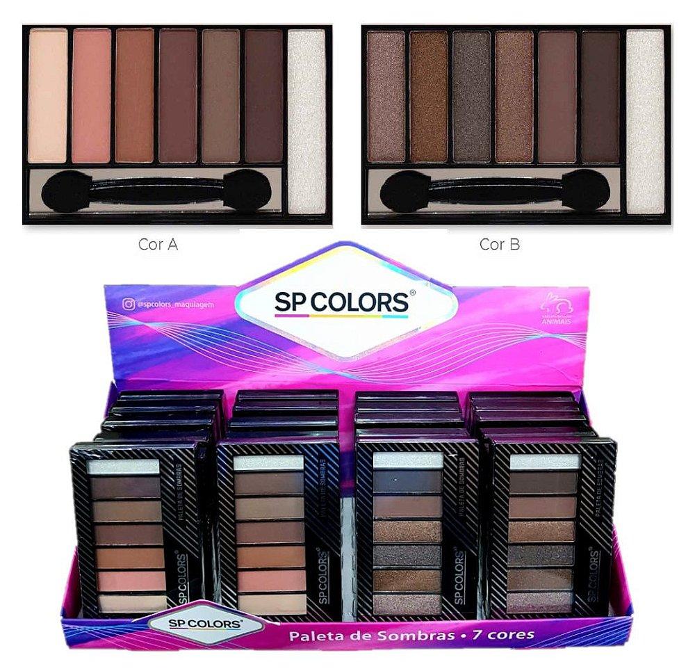 Paleta de Sombras 14 cores Miss France MF-7519-1 - Preço