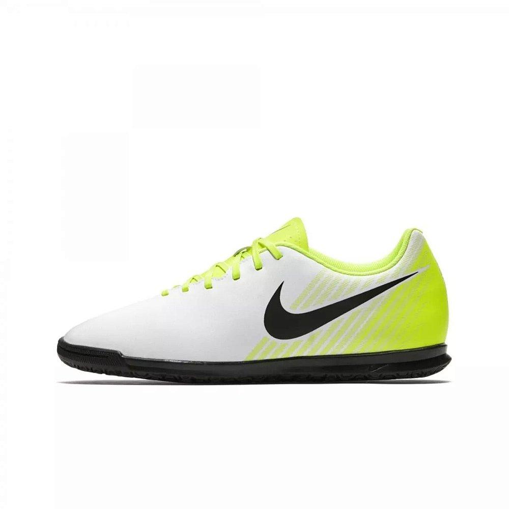 rural mostrador Coherente  Chuteira Nike Futsal MagistaX Ola 2 - Branco/Verde - kaisis Calçados e  Esportes