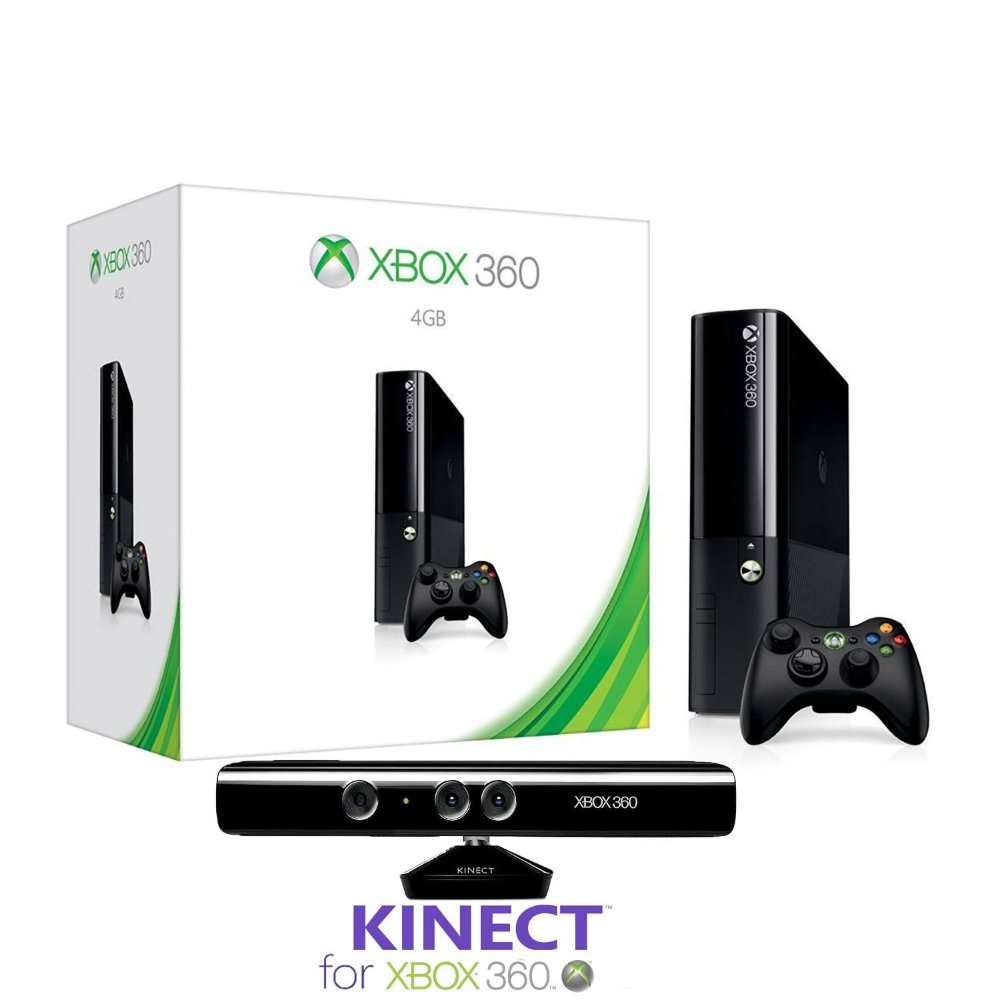 Xbox Console With Kinect on