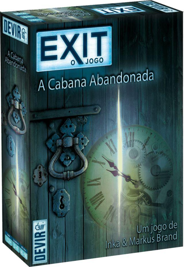 Exit A Cabana Abandonada Devir Jogos De Tabuleiro