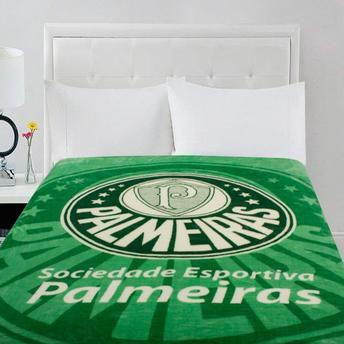 0deedc6437 Manta Cobertor Palmeiras Oficial e Licenciado - Solteiro 2