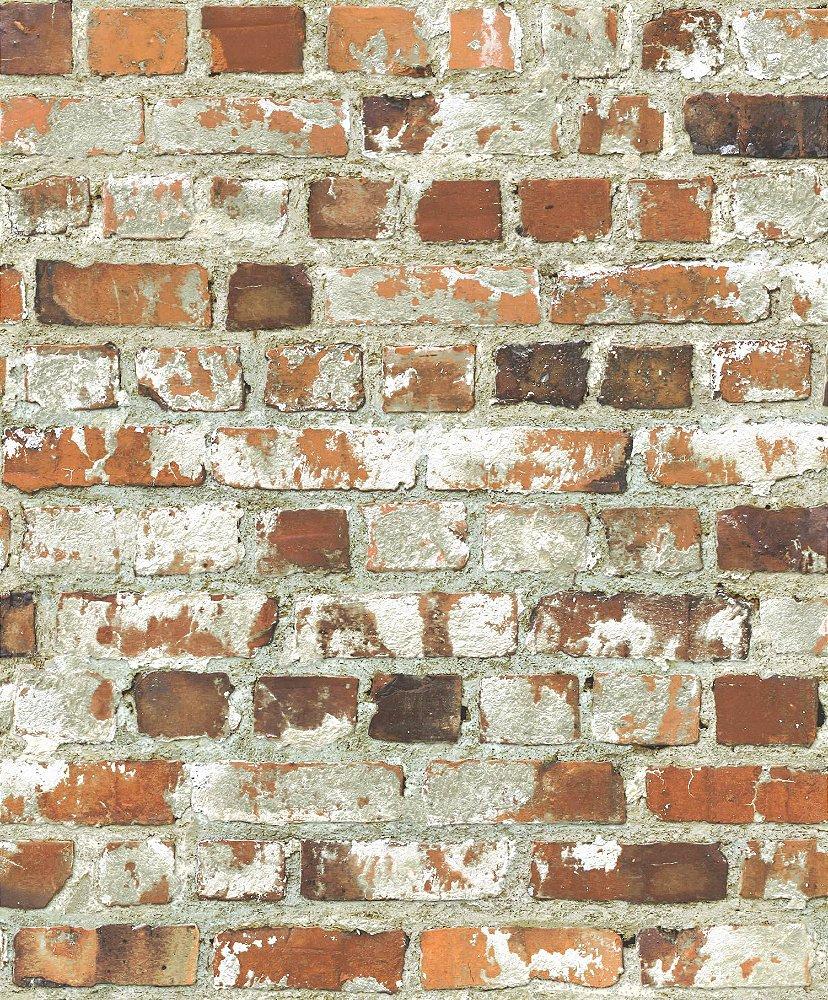 fa348d737 Papel de Parede Freestyle Estilo Muro de Tijolos Rustico - 102538 - Imagem 1