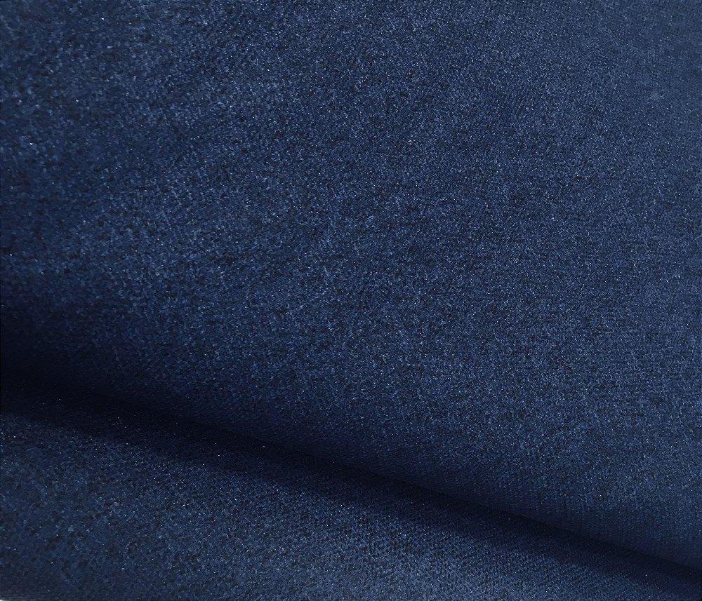 Tecido Estilo Linho Impermeavel Azul Marinho Liso Ilhabela 12