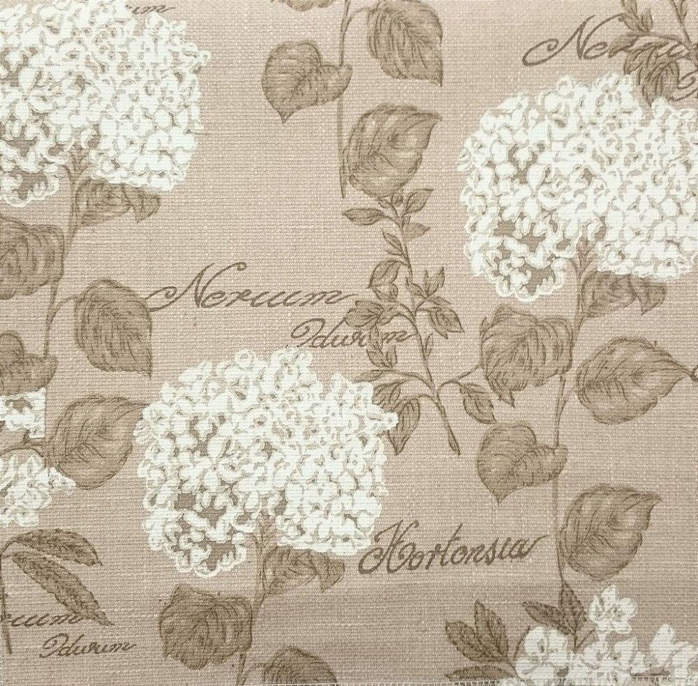 00cf52a1ee94ef Tecido algodão impermeabilizado Floral Areia Linhão - Site de ...