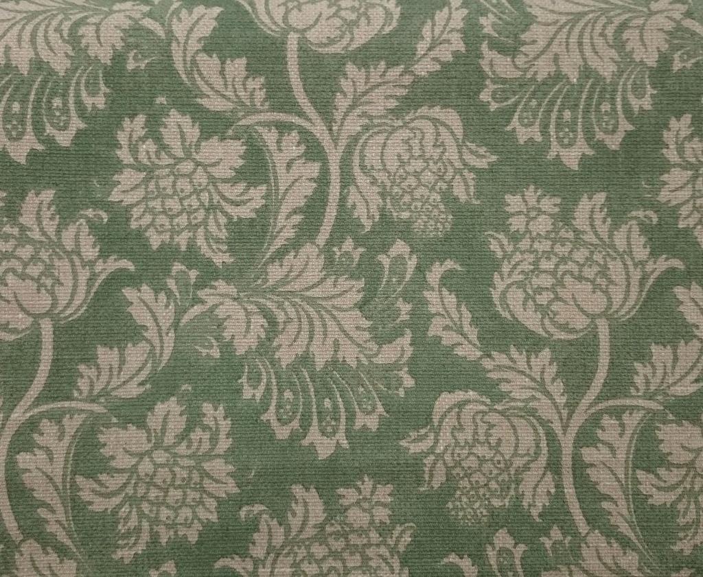 f9b0933457855f Tecido algodão impermeabilizado Linhão Floral Verde - Site de ...