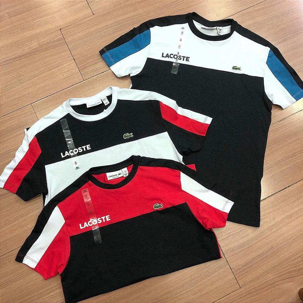 b67d43df542 Camiseta Masculina Lacoste - Are Baba Marcas - Loja de Roupas e ...