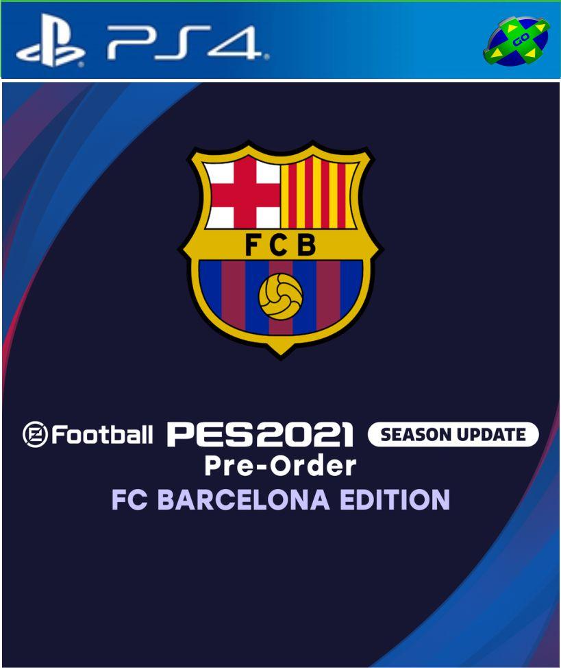 Pes 2021 Barcelona Pes 21 Ps4 Games Go