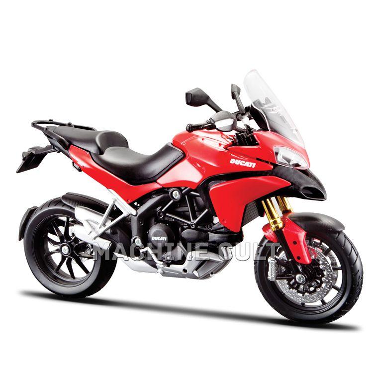 Miniatura Ducati Multistrada Vermelha